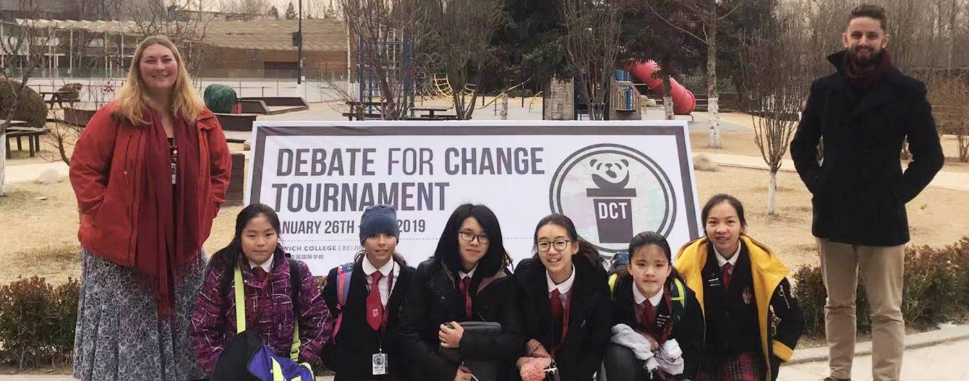 Debate for Change Tournament (DCT) at Dulwich College Beijing (DCB), 26-27 January 2019
