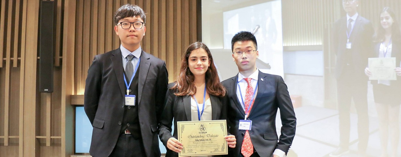 Dulwich Zhuhai Students Recieves Award