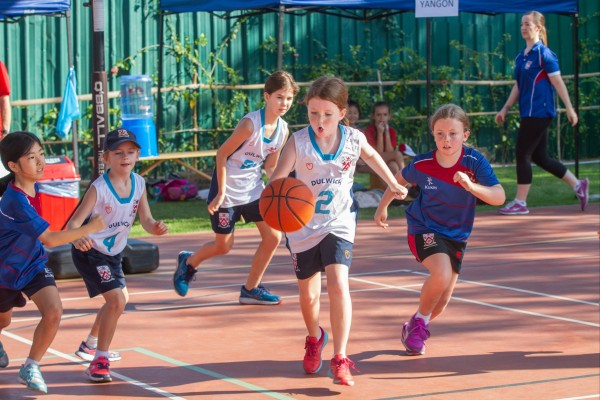 Dulwich Primary Games basketball match