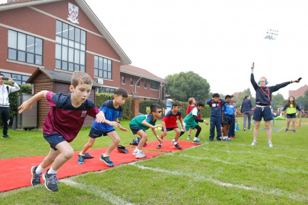 Dulwich College Shanghai Pudong Junior School Sports Day